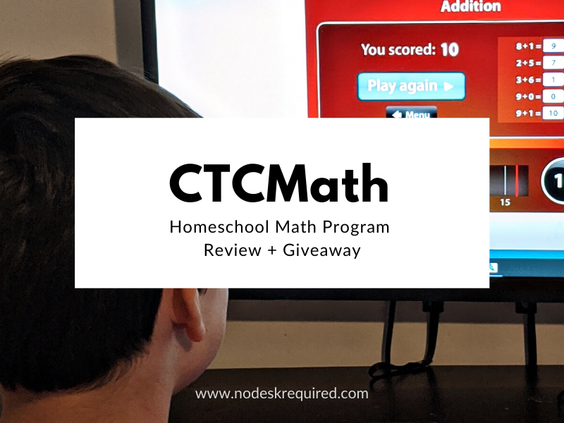 CTCMath {review + giveaway}