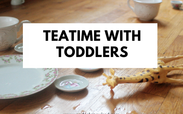 Teatime with Toddlers