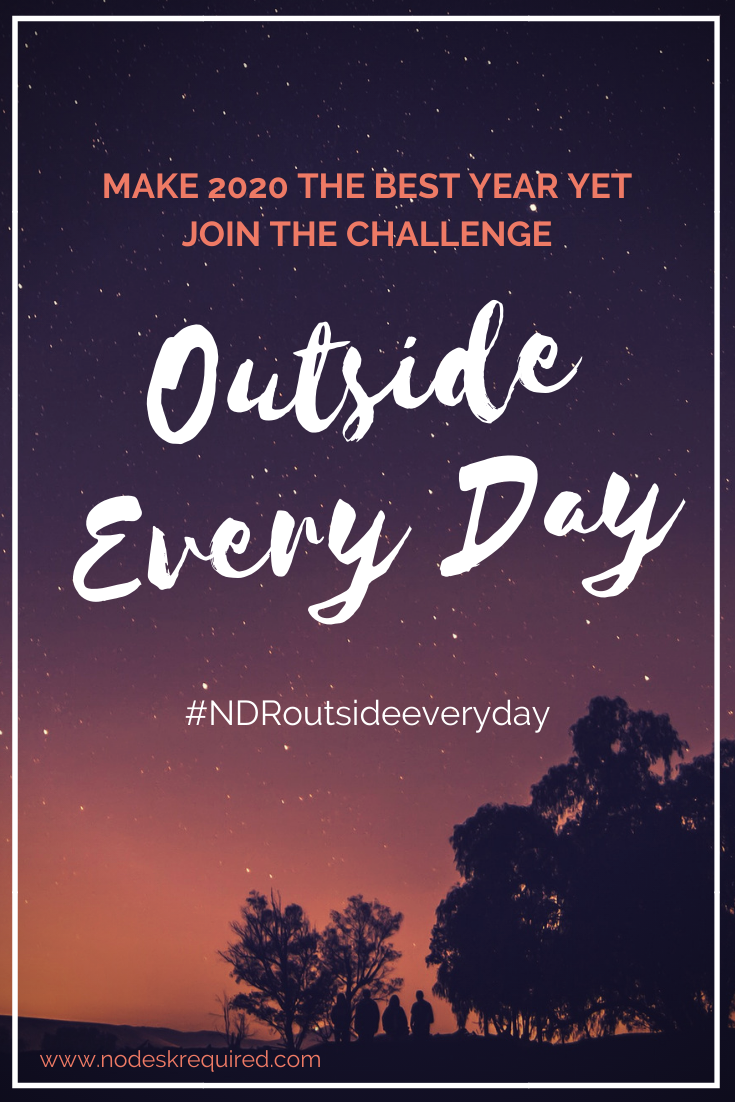 Outside Every Day 2020 challenge