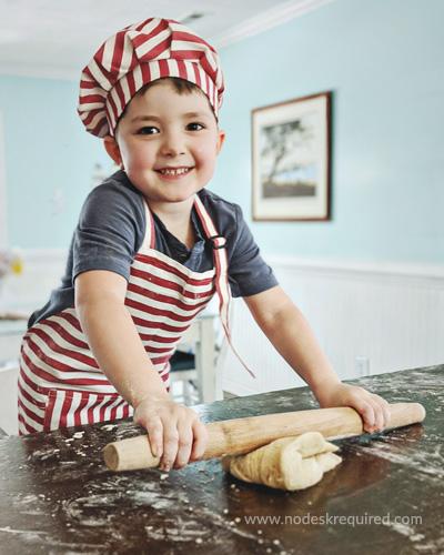 kids' apron review preschooler baking
