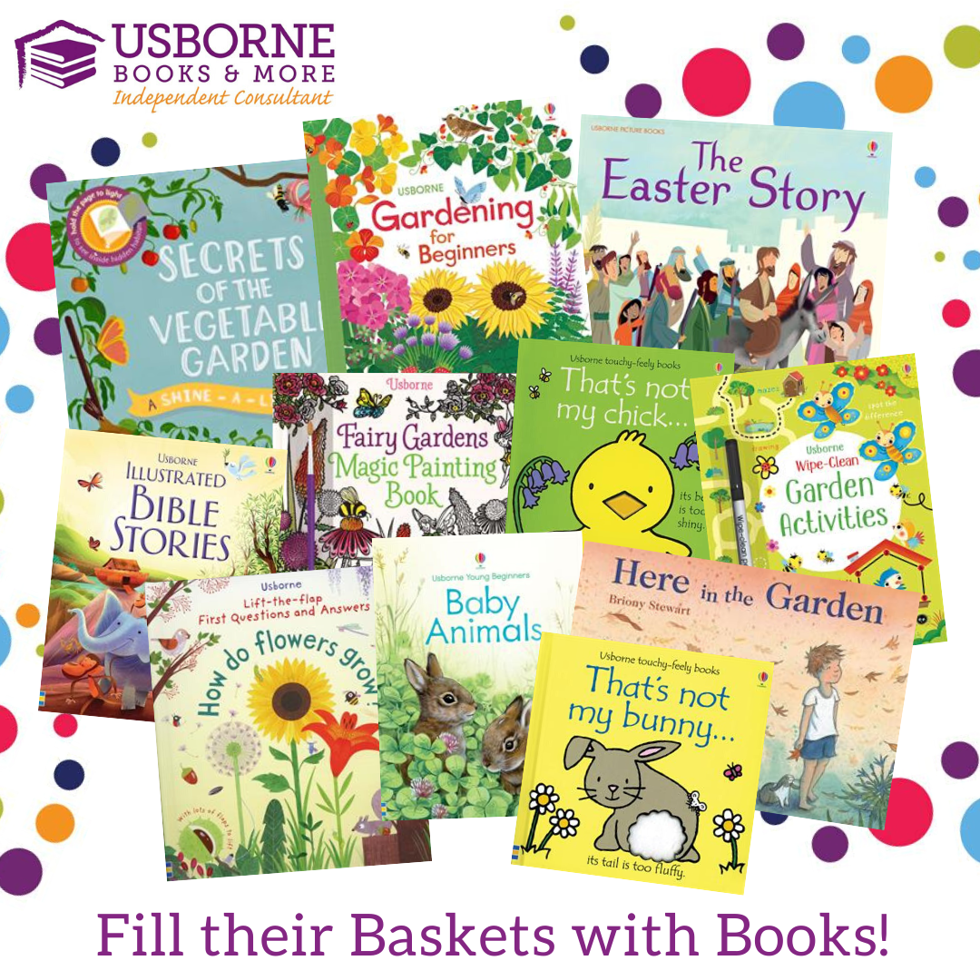 Usborne Books and More Easter books