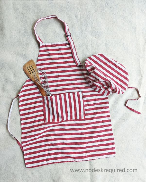 kids' aprons from dapper and doll woman owned company