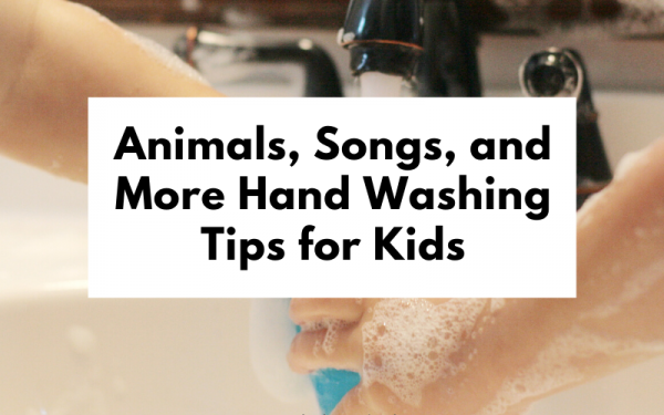 Hand Washing Tips for Kids