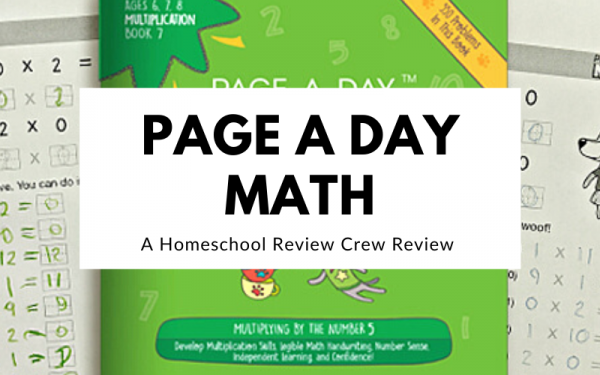 Page a Day Math