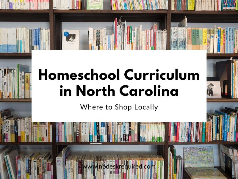 Homeschool Curriculum in North Carolina
