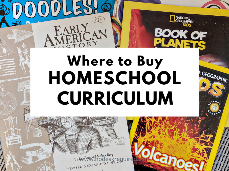 Where to Buy Curriculum