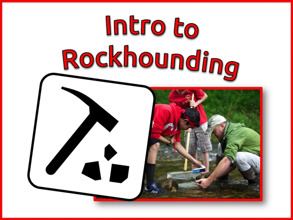 relaxed homeschool science rockhounding class