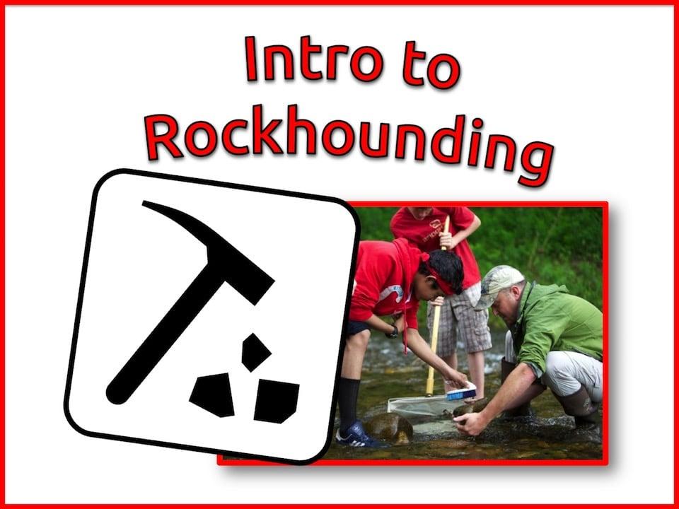 relaxed homeschool science rockhounding class