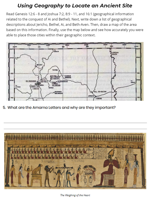 Drive Thru History Adventures homeschool archaeology