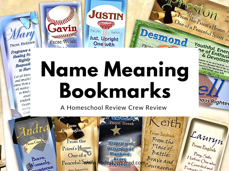 Name Bookmarks