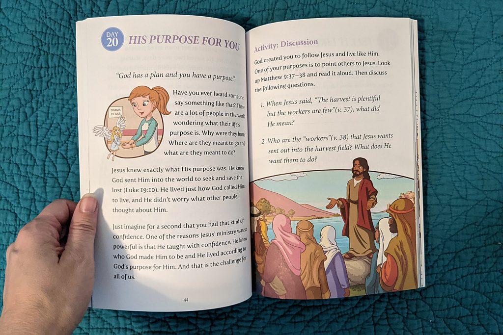 Rooney Cruz Bible Belles devotion